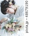 花嫁 女性 ウェディングの写真 48679190