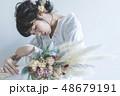 花嫁 女性 ウェディングの写真 48679191