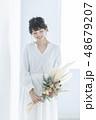 花嫁 女性 ポートレートの写真 48679207