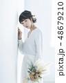 花嫁 女性 ウェディングの写真 48679210