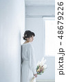 花嫁 女性 ポートレートの写真 48679226