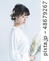 花嫁 女性 ポートレートの写真 48679267