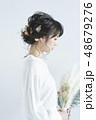 花嫁 女性 ウェディングの写真 48679276