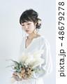 花嫁 女性 人物の写真 48679278
