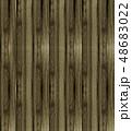 壁 背景素材 木目のイラスト 48683022