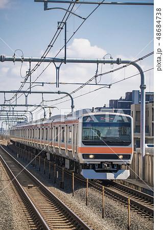 【武蔵野線 231系 越谷レイクタウン駅】 48684738