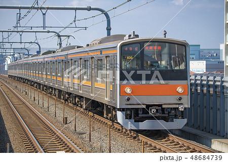 【武蔵野線 205系 越谷レイクタウン駅】 48684739