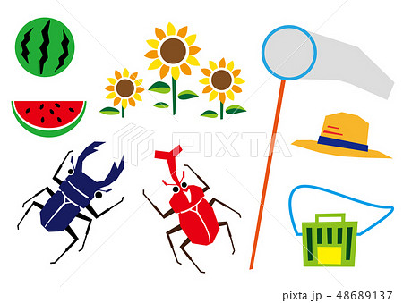 夏 昆虫採集 48689137