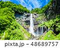 華厳の滝 滝 春の写真 48689757
