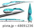 新幹線 東北新幹線 セットのイラスト 48691236