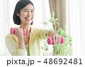 ミドル女性 エクササイズイメージ 48692481