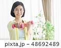ミドル女性 エクササイズイメージ 48692489