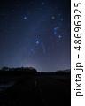 《ふたご座流星群》冬の大三角形とふたご座流星群 48696925