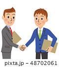 握手 ベクター 契約のイラスト 48702061