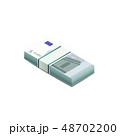 ユーロ お金 通貨のイラスト 48702200