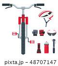 自転車 競争 競技のイラスト 48707147