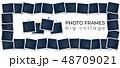 写真 フォト セットのイラスト 48709021