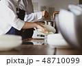 キッチン レストラン 男女 48710099