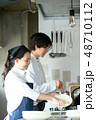 キッチン レストラン 男女 48710112