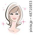 美容イメージ セミロング 48710853