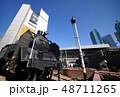 ビル群 ビル 駅の写真 48711265