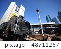 ビル群 ビル 駅の写真 48711267