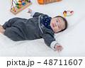 生後3ヵ月の赤ちゃん 48711607
