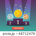 通貨 お金 金のイラスト 48712476