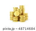 ビットコイン コイン 硬貨のイラスト 48714684