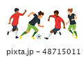 soccer game players 48715011