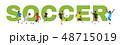 Soccer championship design element  48715019