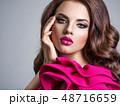 ファッション 流行 女の写真 48716659