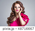 ファッション 流行 女の写真 48716667