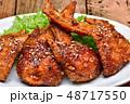 鶏肉 チキン 料理の写真 48717550