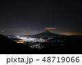 富士山 夜景 新道峠 48719066