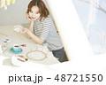 女性 ライフスタイル 刺繡 48721550