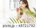 女性 若い女性 アジア人の写真 48721792