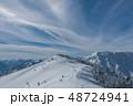 雪山 神楽ヶ峰付近 48724941