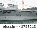 軍港の街横須賀、初めて湾内から軍艦を観る軍港クルーズ船に乗った。 48725213