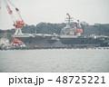 軍港の街横須賀、初めて湾内から軍艦を観る軍港クルーズ船に乗った。 48725221