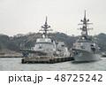 軍港の街横須賀、初めて湾内から軍艦を観る軍港クルーズ船に乗った。 48725242
