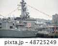 軍港の街横須賀、初めて湾内から軍艦を観る軍港クルーズ船に乗った。 48725249