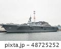 軍港の街横須賀、初めて湾内から軍艦を観る軍港クルーズ船に乗った。 48725252