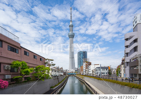 Tokyo sky Tree the famous place in Tokyo city 48730027