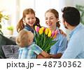ファミリー 家庭 家族の写真 48730362