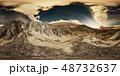 雲 自然 山のイラスト 48732637