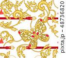 チェーン 鎖 鎖状のイラスト 48736820