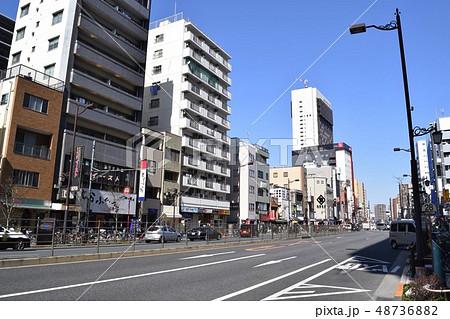 浅草・国際通り(TX浅草駅前)の街並み 48736882