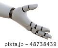 ロボットハンド 腕 手のイラスト 48738439