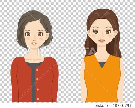 女性【アニメ風・シリーズ】 48740793